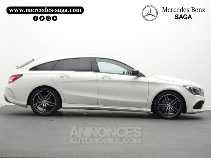 mercedes cla shooting brake 220 d fascination 7g dct blanc cirrus occasion sallertaine vendee. Black Bedroom Furniture Sets. Home Design Ideas