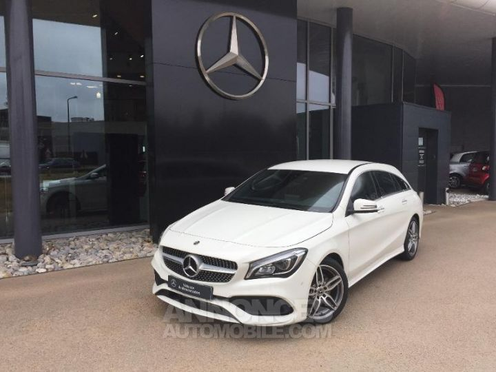 Mercedes CLA Shooting Brake 220 d Launch Edition 7G-DCT ZP BLANC CIRRUS Occasion - 1