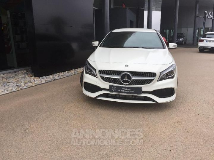 Mercedes CLA Shooting Brake 220 d Launch Edition 7G-DCT ZP BLANC CIRRUS Occasion - 8