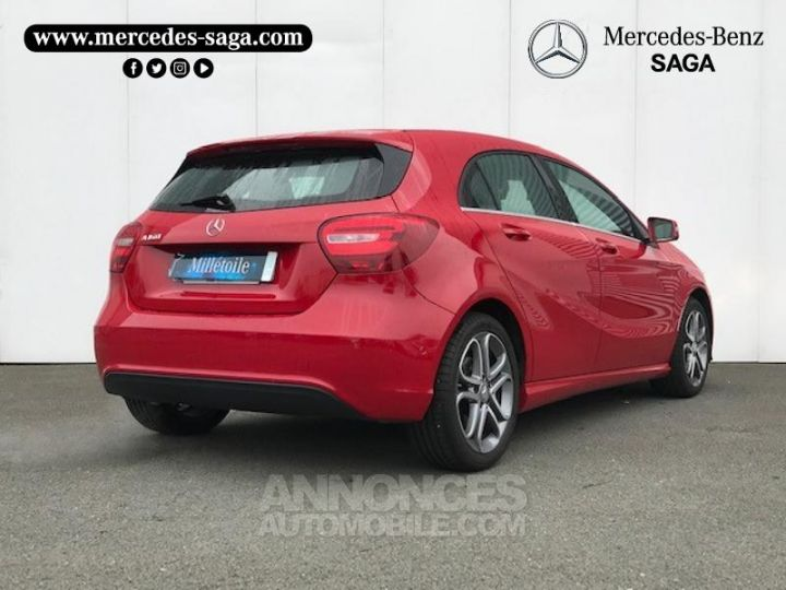 Mercedes Classe A 160 Inspiration 7G-DCT ROUGE Occasion - 2