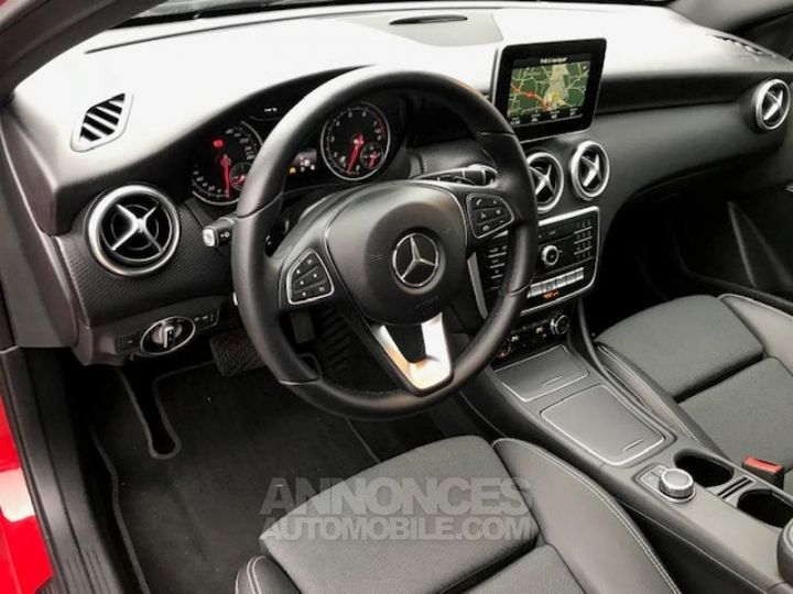 Mercedes Classe A 160 Inspiration 7G-DCT ROUGE Occasion - 12