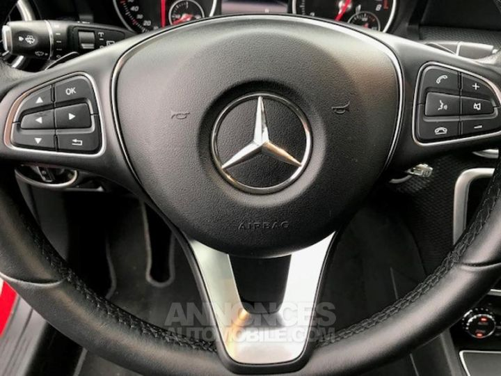 Mercedes Classe A 160 Inspiration 7G-DCT ROUGE Occasion - 14