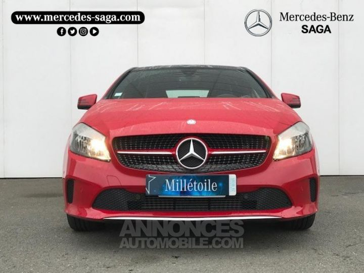 Mercedes Classe A 160 Inspiration 7G-DCT ROUGE Occasion - 17