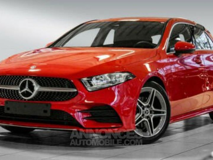 Mercedes Classe A 180 AMG Line Rouge M  Occasion - 1