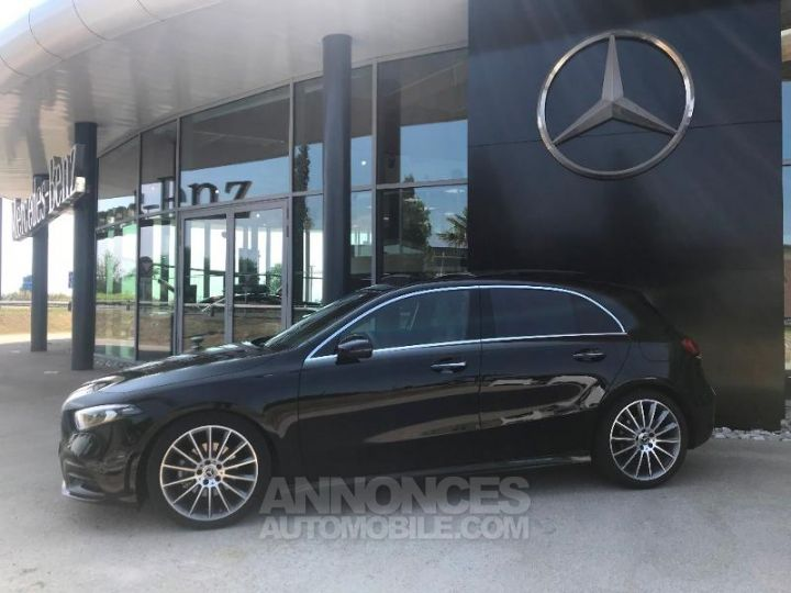 Mercedes Classe A 180 d AMG Line 7G-DCT Noir cosmos métallisé Occasion - 3