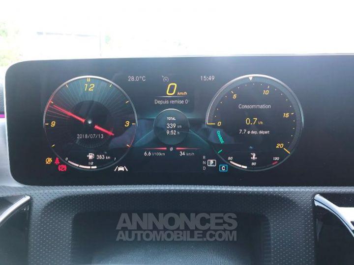 Mercedes Classe A 180 d AMG Line 7G-DCT Noir cosmos métallisé Occasion - 14