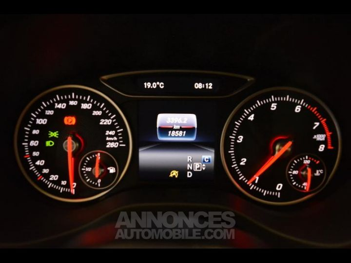 Mercedes Classe A 180 Inspiration 7G-DCT Noire Métal Occasion - 8