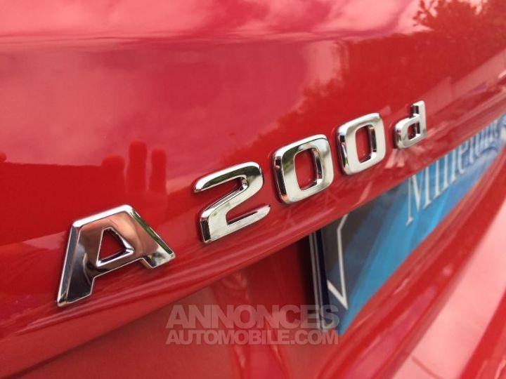 Mercedes Classe A 200 d Fascination 7G-DCT Rouge Jupiter Occasion - 6