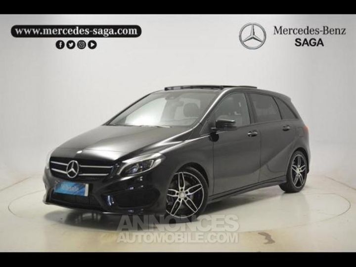 Mercedes Classe B 200 d Fascination 7G-DCT Noir Cosmos Occasion - 1
