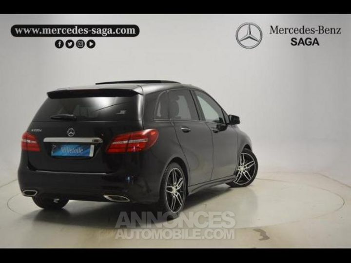 Mercedes Classe B 200 d Fascination 7G-DCT Noir Cosmos Occasion - 2