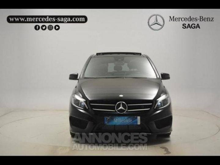 Mercedes Classe B 200 d Fascination 7G-DCT Noir Cosmos Occasion - 13