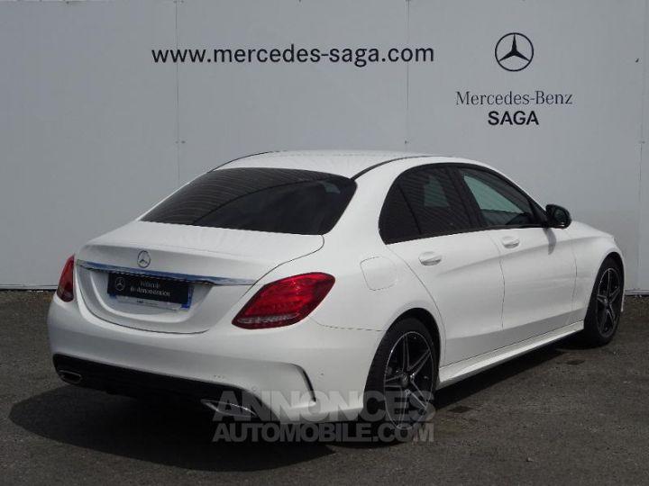 Mercedes Classe C 180 d Sportline 7G-Tronic Plus BLANC POLAIRE Occasion - 2