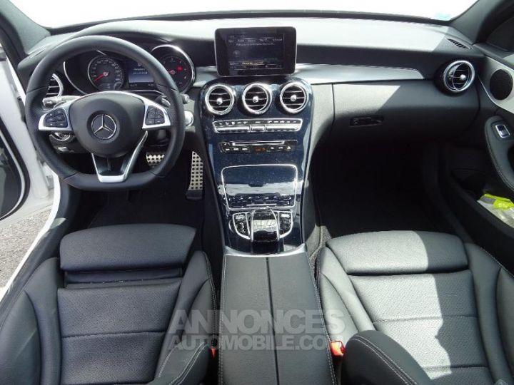 Mercedes Classe C 180 d Sportline 7G-Tronic Plus BLANC POLAIRE Occasion - 3