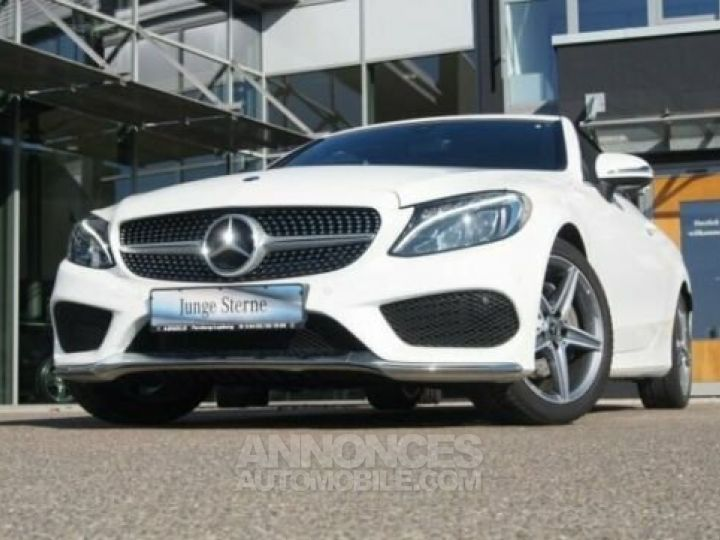 Mercedes Classe C 180 Pack AMG Blanche Occasion - 1