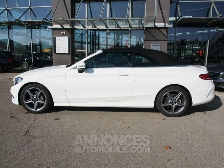 Mercedes Classe C 180 Pack AMG Blanche Occasion - 2