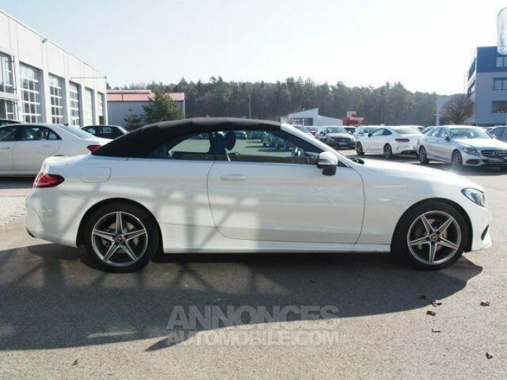 Mercedes Classe C 180 Pack AMG Blanche Occasion - 4