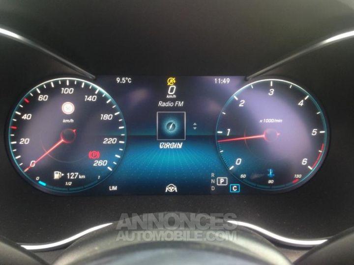 Mercedes Classe C 220 d 194ch AMG Line 9G-Tronic Euro6d-T Blanc diamant brillant designo Occasion - 17