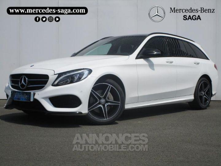 Mercedes Classe C 220 d Sportline 4Matic 7G-Tronic Plus BLANC Occasion - 1