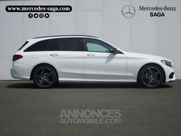 Mercedes Classe C 220 d Sportline 4Matic 7G-Tronic Plus BLANC Occasion - 3