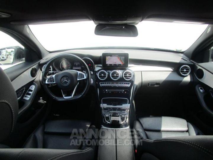 Mercedes Classe C 220 d Sportline 4Matic 7G-Tronic Plus BLANC Occasion - 5
