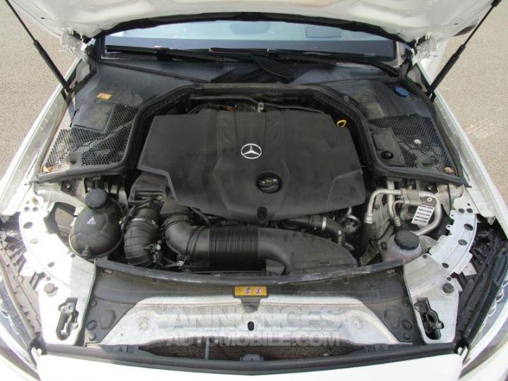 Mercedes Classe C 220 d Sportline 4Matic 7G-Tronic Plus BLANC Occasion - 10