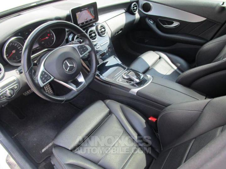 Mercedes Classe C 220 d Sportline 4Matic 7G-Tronic Plus BLANC Occasion - 11