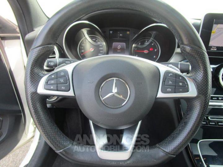 Mercedes Classe C 220 d Sportline 4Matic 7G-Tronic Plus BLANC Occasion - 19