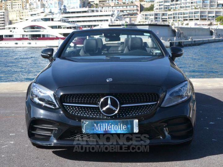 Mercedes Classe C Cabriolet 200 184ch AMG Line 9G-Tronic Euro6d-T Noir Obsidienne Occasion - 2