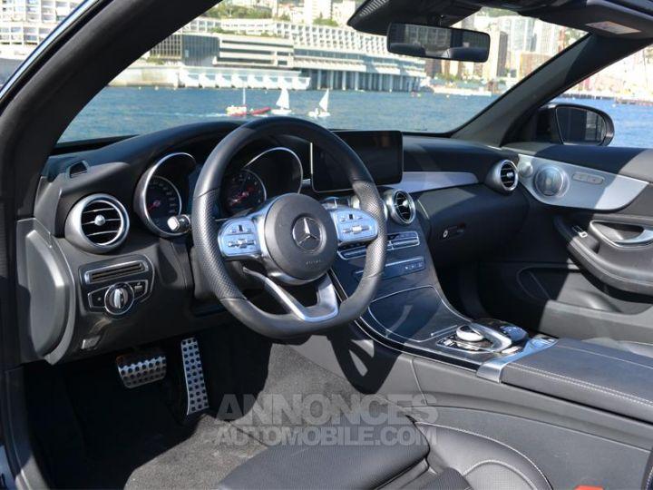 Mercedes Classe C Cabriolet 200 184ch AMG Line 9G-Tronic Euro6d-T Noir Obsidienne Occasion - 4