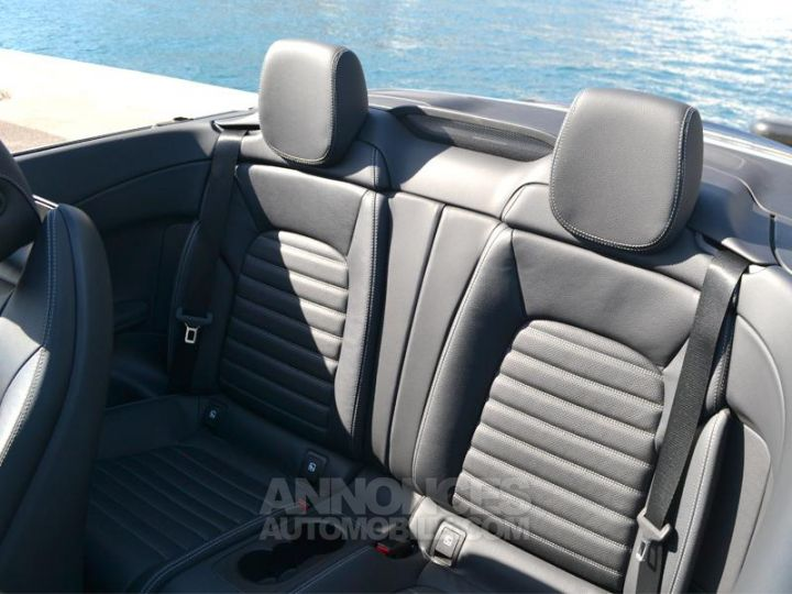 Mercedes Classe C Cabriolet 200 184ch AMG Line 9G-Tronic Euro6d-T Noir Obsidienne Occasion - 6