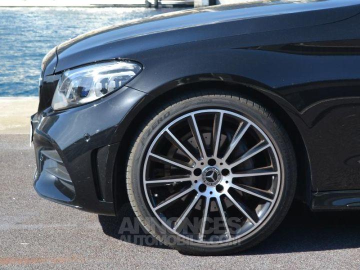 Mercedes Classe C Cabriolet 200 184ch AMG Line 9G-Tronic Euro6d-T Noir Obsidienne Occasion - 7