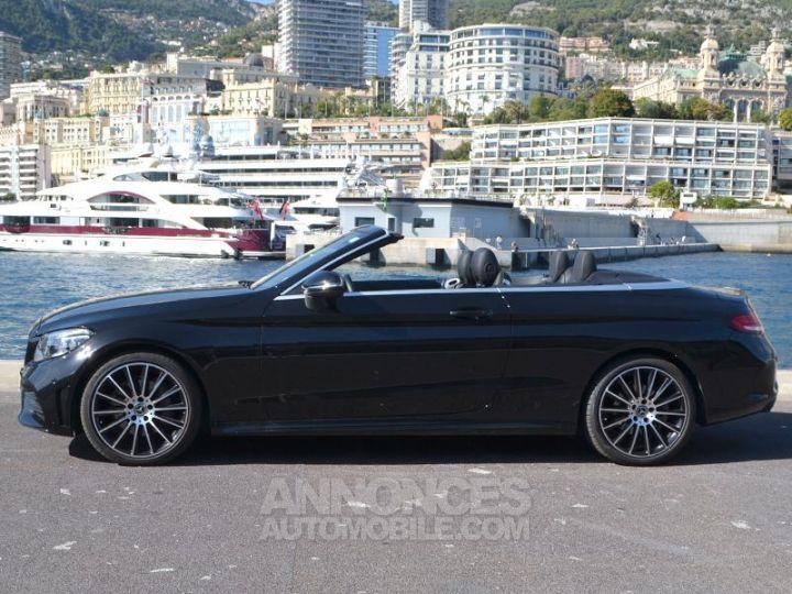 Mercedes Classe C Cabriolet 200 184ch AMG Line 9G-Tronic Euro6d-T Noir Obsidienne Occasion - 8