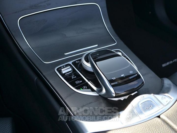 Mercedes Classe C Cabriolet 200 184ch AMG Line 9G-Tronic Euro6d-T Noir Obsidienne Occasion - 17