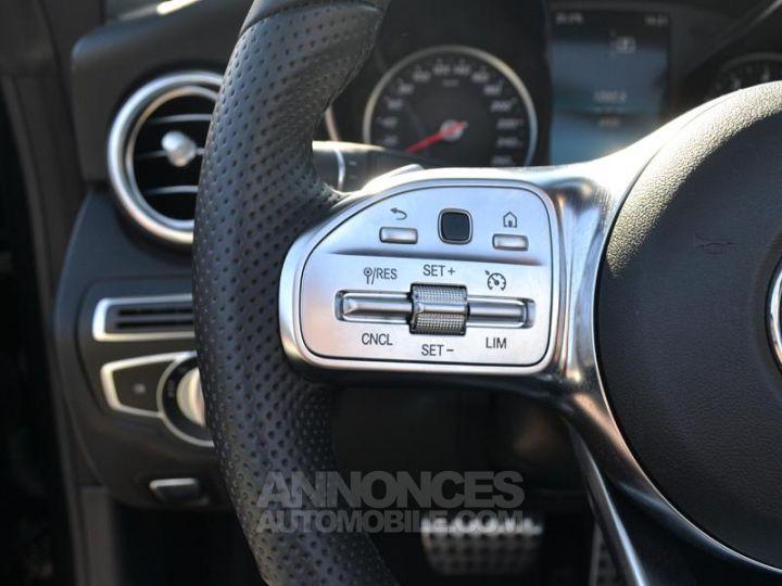 Mercedes Classe C Cabriolet 200 184ch AMG Line 9G-Tronic Euro6d-T Noir Obsidienne Occasion - 18
