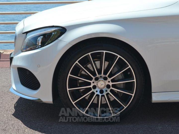 Mercedes Classe C Cabriolet 300 245ch Sportline 9G-Tronic Blanc Cirrus Occasion - 7