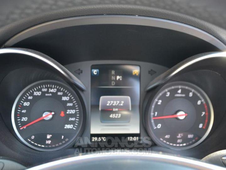 Mercedes Classe C Cabriolet 300 245ch Sportline 9G-Tronic Blanc Cirrus Occasion - 13
