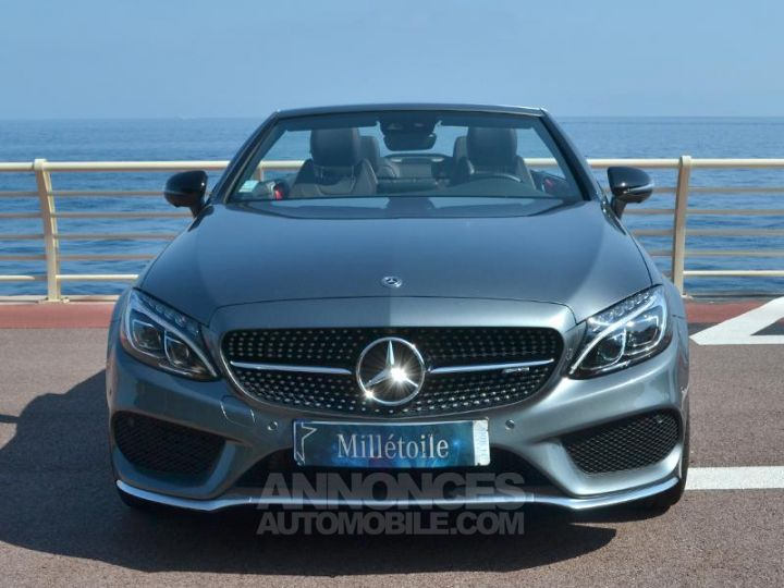 Mercedes Classe C Cabriolet 43 AMG 367ch 4Matic 9G-Tronic Gris Selenite Occasion - 2