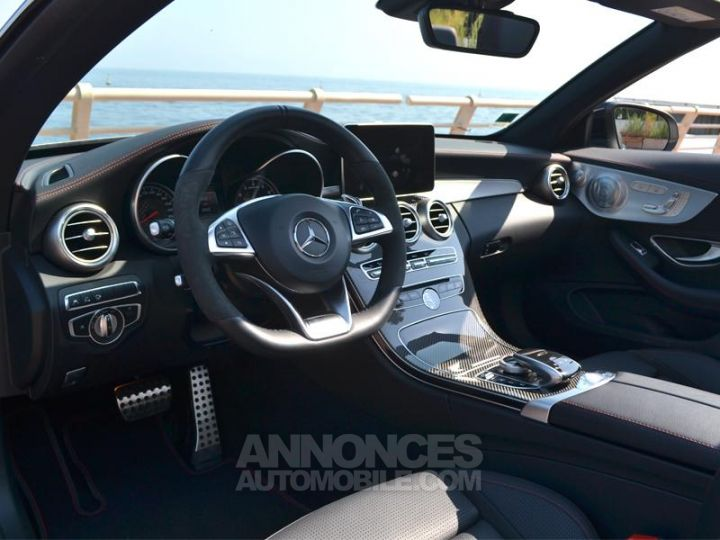 Mercedes Classe C Cabriolet 43 AMG 367ch 4Matic 9G-Tronic Gris Selenite Occasion - 4