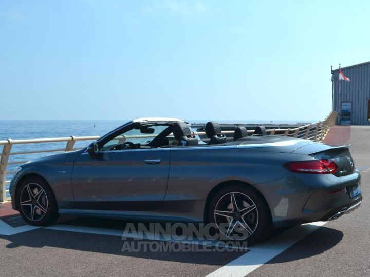 Mercedes Classe C Cabriolet 43 AMG 367ch 4Matic 9G-Tronic Gris Selenite Occasion - 9