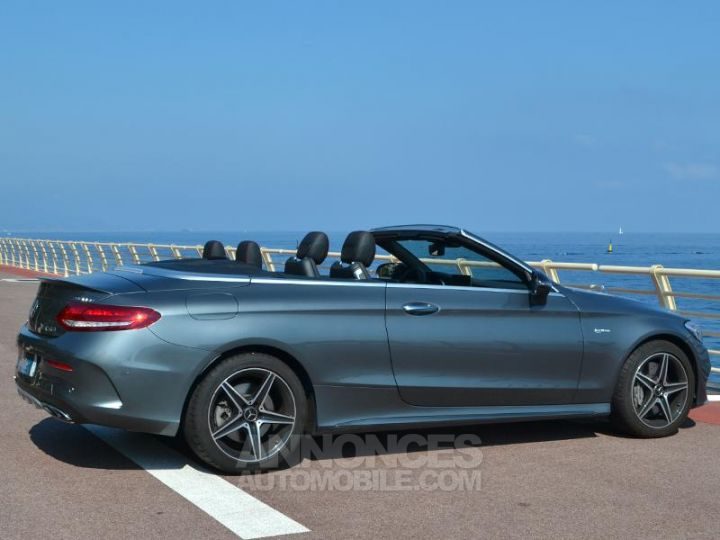 Mercedes Classe C Cabriolet 43 AMG 367ch 4Matic 9G-Tronic Gris Selenite Occasion - 11