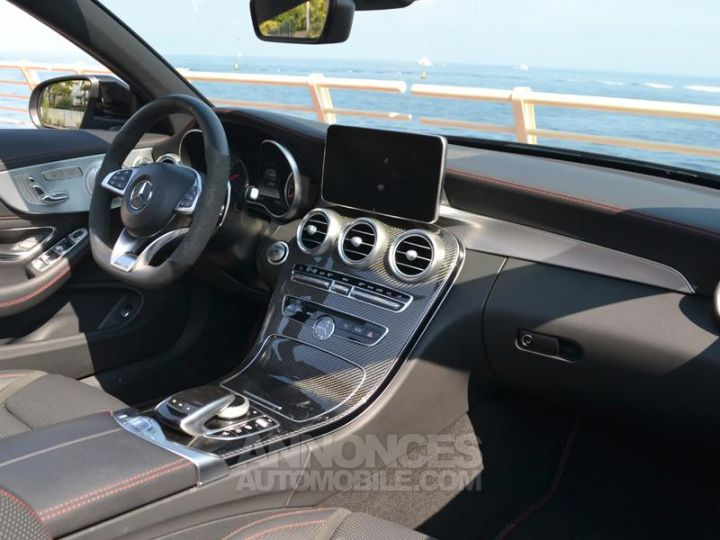 Mercedes Classe C Cabriolet 43 AMG 367ch 4Matic 9G-Tronic Gris Selenite Occasion - 12