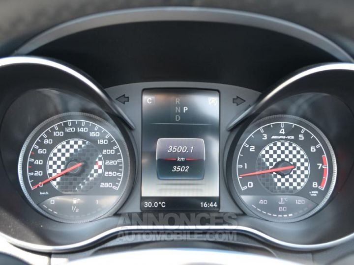 Mercedes Classe C Cabriolet 43 AMG 367ch 4Matic 9G-Tronic Gris Selenite Occasion - 13