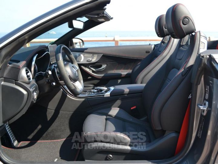 Mercedes Classe C Cabriolet 43 AMG 367ch 4Matic 9G-Tronic Gris Selenite Occasion - 18
