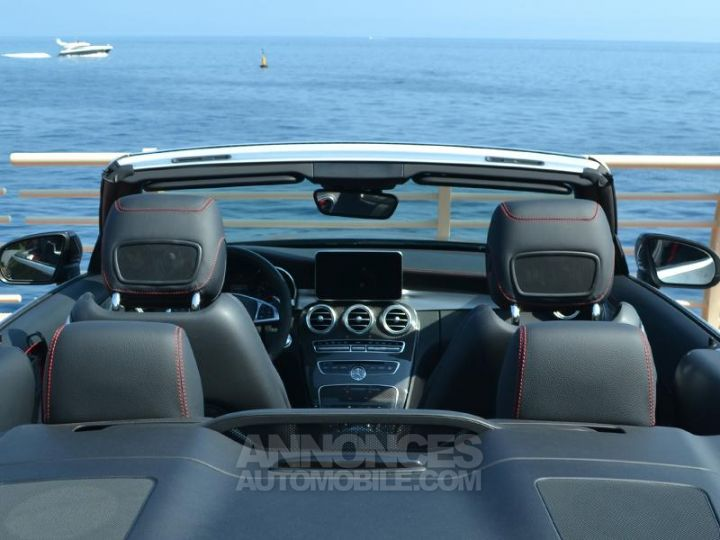 Mercedes Classe C Cabriolet 43 AMG 367ch 4Matic 9G-Tronic Gris Selenite Occasion - 19