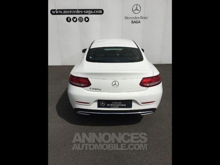 Mercedes Classe C Coupe Sport 220 d 170ch 9G-Tronic BLANC POLAIRE Occasion - 13