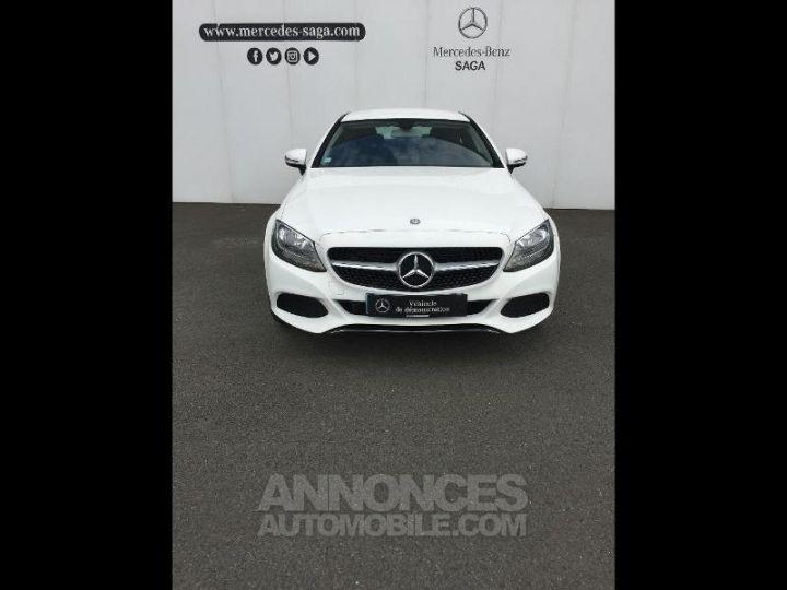 Mercedes Classe C Coupe Sport 220 d 170ch 9G-Tronic BLANC POLAIRE Occasion - 14