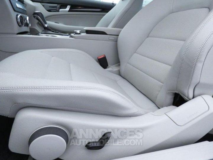 Mercedes Classe C Coupe Sport 250 CDI 7GTronic Argent Palladium Occasion - 11