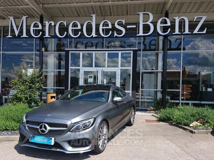 Mercedes Classe C Coupe Sport 250 d 204ch Sportline 9G-Tronic GRIS MAGNO Occasion - 1