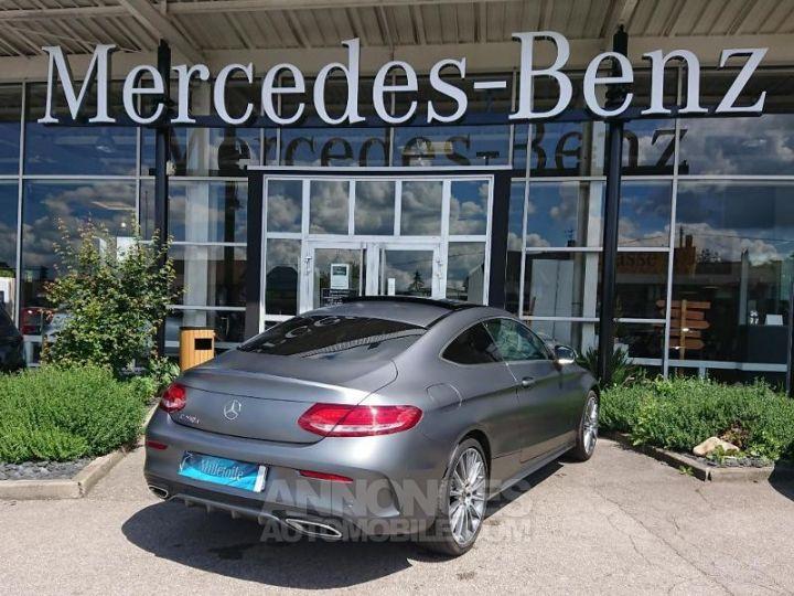 Mercedes Classe C Coupe Sport 250 d 204ch Sportline 9G-Tronic GRIS MAGNO Occasion - 2