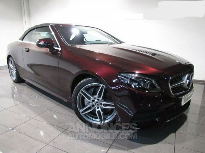Mercedes Classe E 200 Pack AMG Rouge Rubelit M Occasion - 1